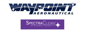 Waypoint Aeronautical logo and SpectraClean logo